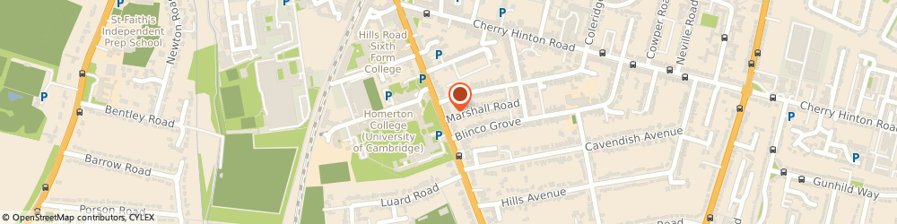 Route/map/directions to E f International Language Schools, CB2 8RN Cambridge, 221, HILLS ROAD