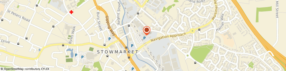 Route/map/directions to Stowmarket Estate Agents, IP33 1BE Bury St Edmunds, 59 Cornhill