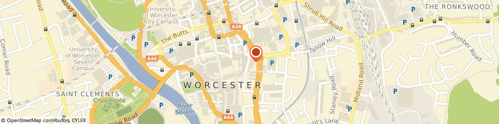 Route/map/directions to Drummonds, WR1 2DP Worcester, 28 New St