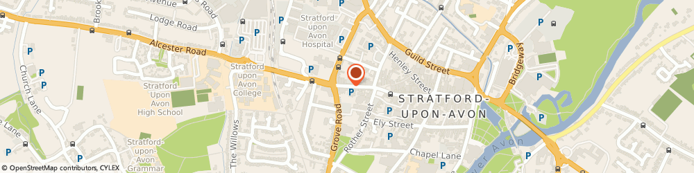Route/map/directions to Clarke Roxburgh Insurance Brokers Ltd, CV37 6LE Stratford-Upon-Avon, 36 GREENHILL STREET