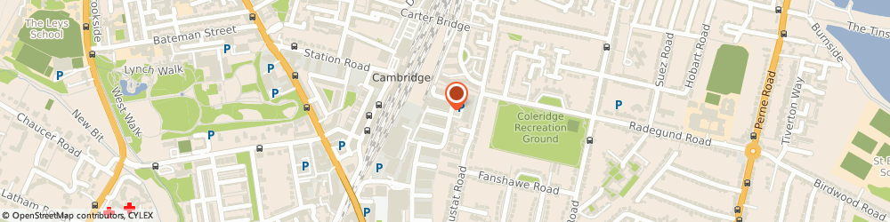 Route/map/directions to German Tech Cars, CB1 7ED Cambridge, 50 Clifton Rd