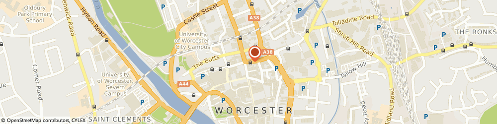 Route/map/directions to Raw, WR1 1UW Worcester, 4 ST. NICHOLAS STREET