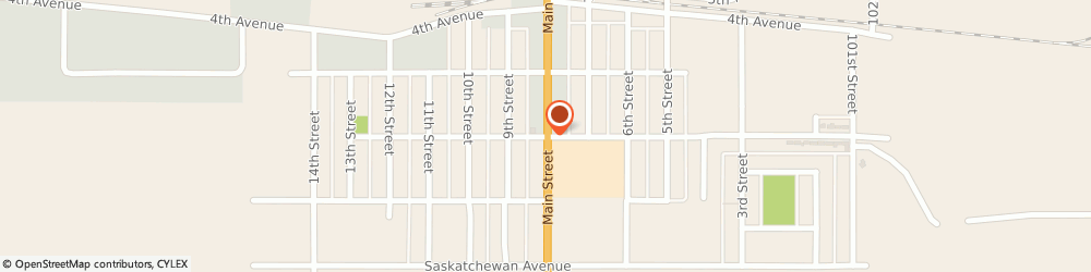 Route/map/directions to PARTNERS Family Services Inc., S0K 2A0 Humboldt, 231 B Main St