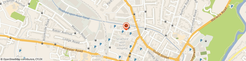 Route/map/directions to HiQ Tyres & Autocare Stratford-upon-Avon, CV37 0AH Stratford-Upon-Avon, Porton House, Western Road