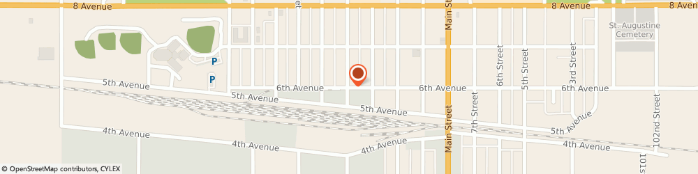 Route/map/directions to Humboldt Senior Citizens Club Inc, S0K 2A0 Humboldt, 701 6TH AVENUE