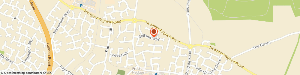 Route/map/directions to LOXITONS LIMITED, NN4 6AU Northampton, 23 Balland Way