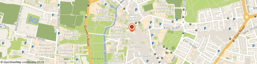 Route/map/directions to Lloyds Bank - Cambridge ATM, CB2 1TB Cambridge, 36/37 Trinity Street