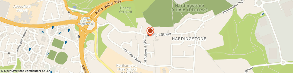 Route/map/directions to UPS Solutions Logistics, NN4 6BZ Hardingstone, High Street 61