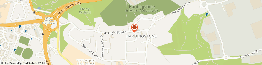 Route/map/directions to S & S Motors, NN4 6BZ Hardingstone, 19-21 HIGH STREET