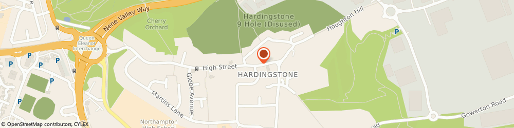 Route/map/directions to Hardingstone Transport Services, NN4 7BT Hardingstone, 30 High St