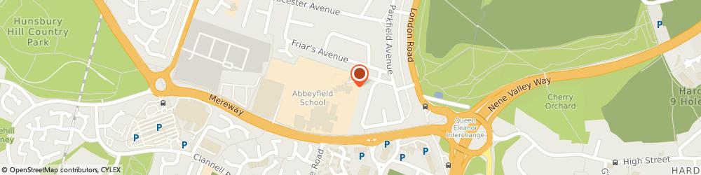 Route/map/directions to Abbey Primary Bumble S After School Club, NN4 8AZ Northampton, Abbey Primary School
