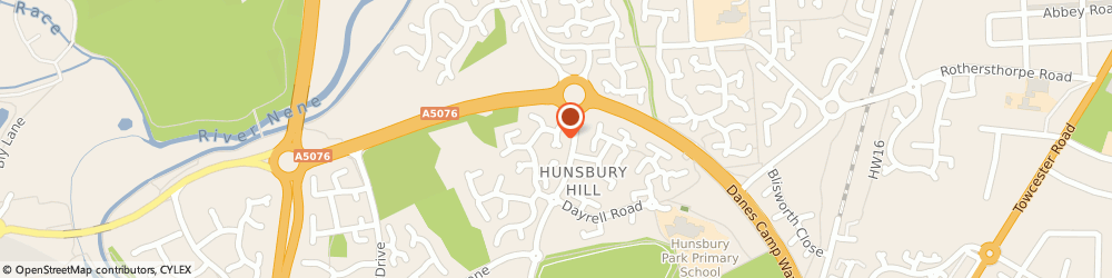Route/map/directions to Wb Plumbing and Heating, NN4 9YH Northampton, 36 MERRY HILL