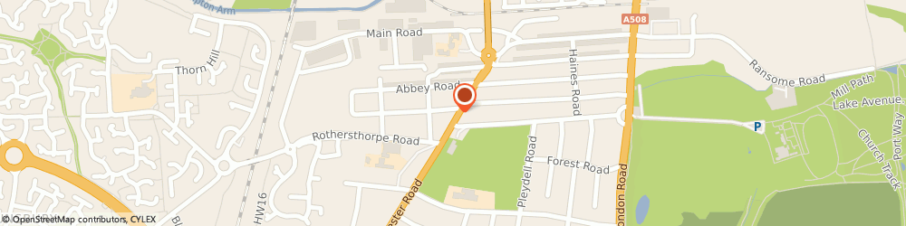 Route/map/directions to Alan Rhodes Veterinary Surgery, NN4 8LQ Northampton, 66 Towcester Rd