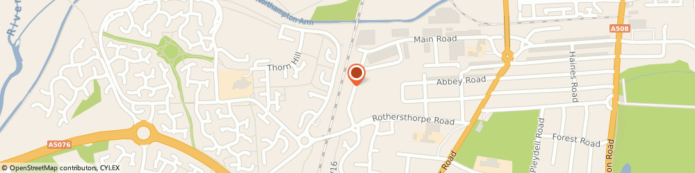 Route/map/directions to Don Smith Blinds, NN4 8JH Northampton, 4 Rothersthorpe Ave
