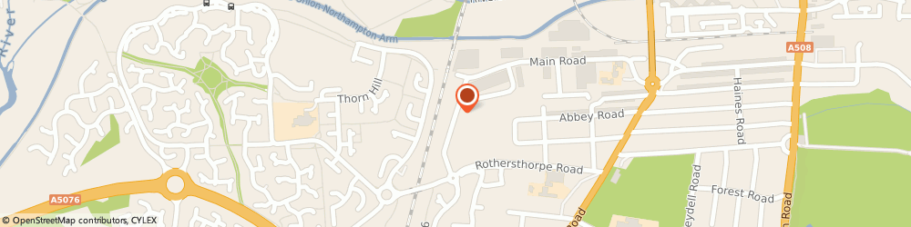 Route/map/directions to Brockhall Designs, NN4 8JH Northampton, 1 Rothersthorpe Ave