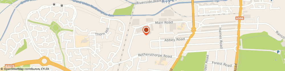 Route/map/directions to Etch Interiors Ltd, NN4 8JD Northampton, Unit 24 Rothersthorpe Crescent