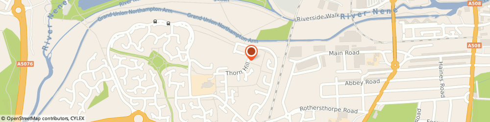 Route/map/directions to S Barratt Drainage, NN4 8SN Northampton, 1 THORN HILL