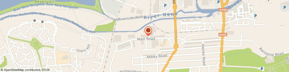 Route/map/directions to Russell Roofing Ltd, NN4 8ES Northampton, Unit 5, Minton Business Centre, Main Road