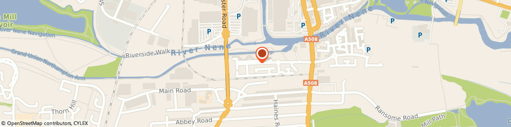 Route/map/directions to ARK PLUMBING & HEATING LIMITED, NN4 8BX Northampton, 47 West Cotton Close