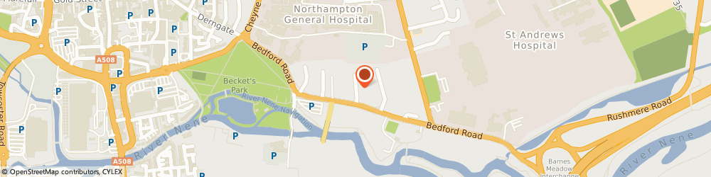 Route/map/directions to Lorrimar Limited, NN1 5NT Northampton, BELLS MOTOR GROUP, NORMAN D GATE