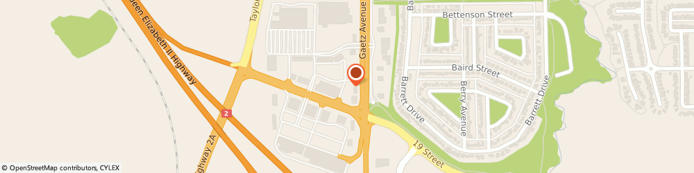 Route/map/directions to A&W, T4R 3A2 Red Deer, 2004 50Th Avenue Southpointe Common