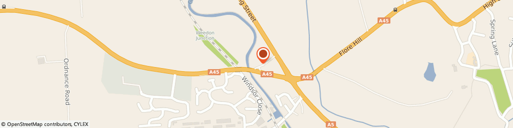 Route/map/directions to Heart of England Weedon by Marston's Inn, NN7 4QD Northampton, Weedon