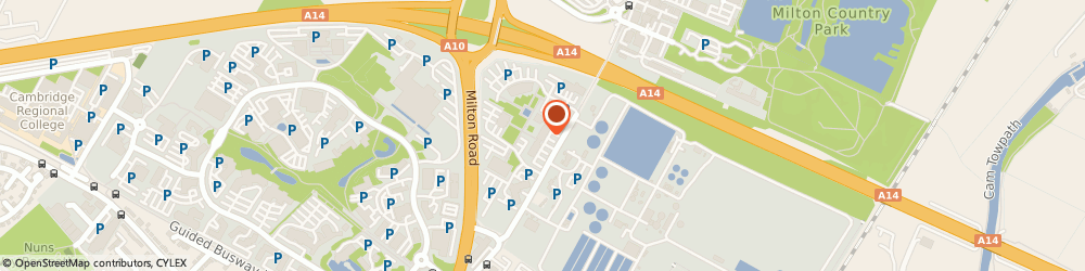 Route/map/directions to Cambridge College Marketing, CB4 0WS Cambridge, St. John's Innovation Centre, Cowley Road