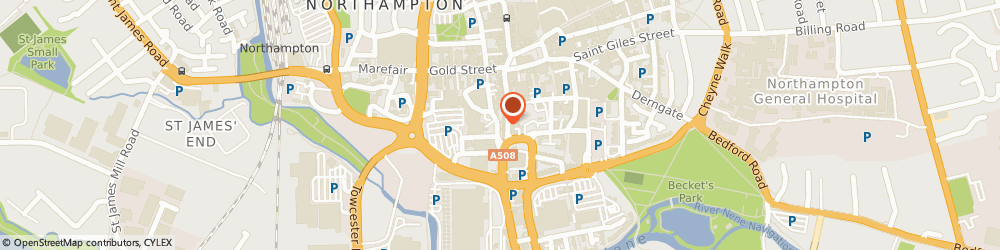 Route/map/directions to The Kingswell Pantry, NN1 1PP Northampton, 39 Kingswell Street