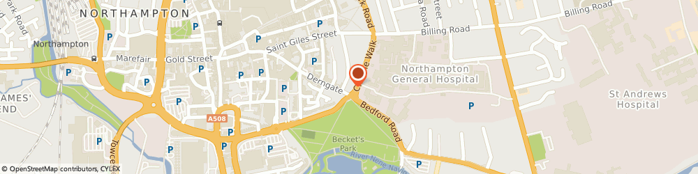 Route/map/directions to MNC STRIBBONS UK LTD, NN1 5PT Northampton, 10 Cheyne Walk