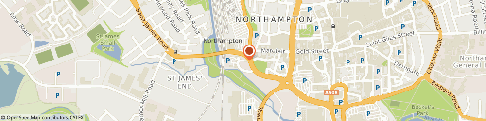 Route/map/directions to NORTH27 LIMITED, NN1 1SY Northampton, Green Street