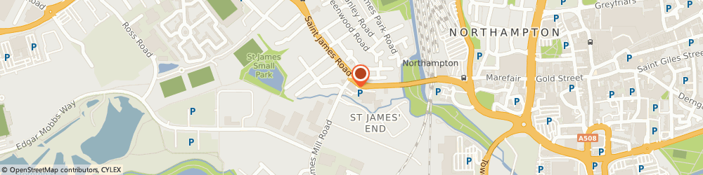 Route/map/directions to HSS Hire, NN5 5JA Northampton, Unit 1, St James Mill Rd
