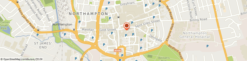 Route/map/directions to Top Force, NN1 1DF Northampton, 1d, Whitworth Chambers