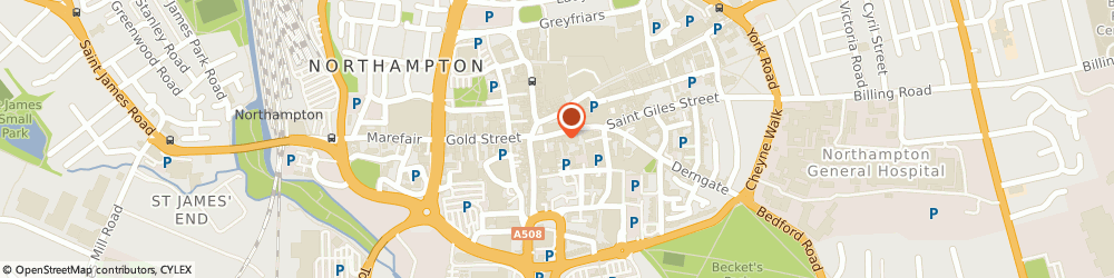 Route/map/directions to Edward Knight Estate Agents Northampton, NN1 1DF Northampton, 9 George Row