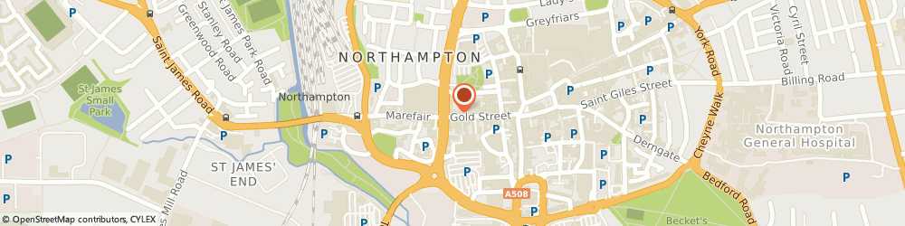 Route/map/directions to EXODUS LAW LTD, NN1 1RS Northampton, 60 Gold Street