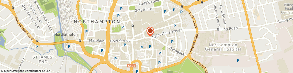 Route/map/directions to ASK Italian, NN1 1DA Northampton, 10 St Giles Square
