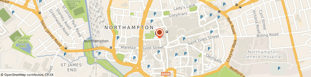 Route/map/directions to Prime Time Recruitment Ltd, NN1 2QF Northampton, 5 College Street Mews