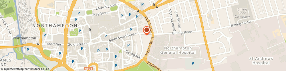Route/map/directions to Eva Nightingale Beauty Clinic, NN1 5AA Northampton, 3 Spencer Parade