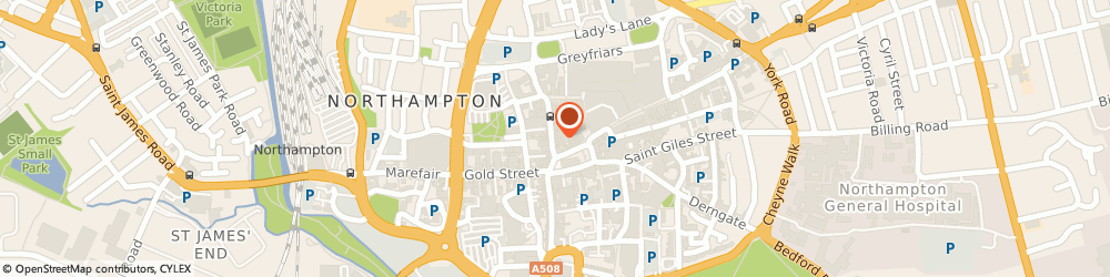 Route/map/directions to Barclays Bank PLC, NN1 2HG Northampton, 18 The Drapery