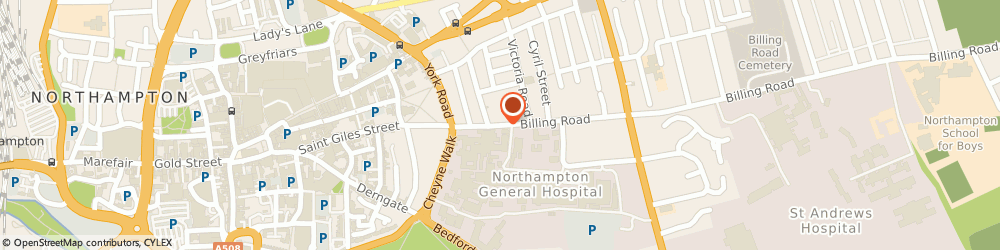 Route/map/directions to Teodor Raduna Transport Limited, NN1 5AW Northampton, 12 BILLING ROAD