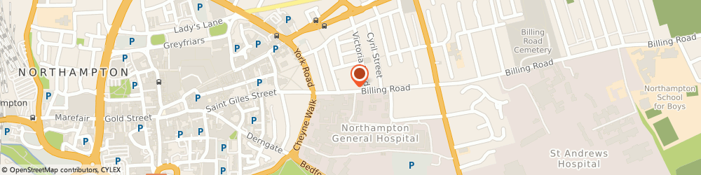 Route/map/directions to Pml Driving Services Limited, NN1 5AW Northampton, 12 BECKETT HOUSE, 14 BILLING ROAD