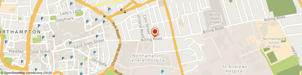 Route/map/directions to The Stow Longa Community Project Limited, NN1 5AJ Northampton, 28 BILLING ROAD