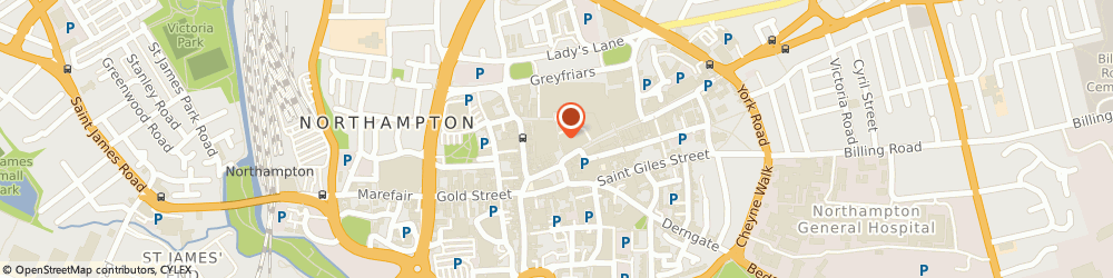 Route/map/directions to British Army Careers Centres - ACC Northampton, NN1 2EA Northampton, Market Square