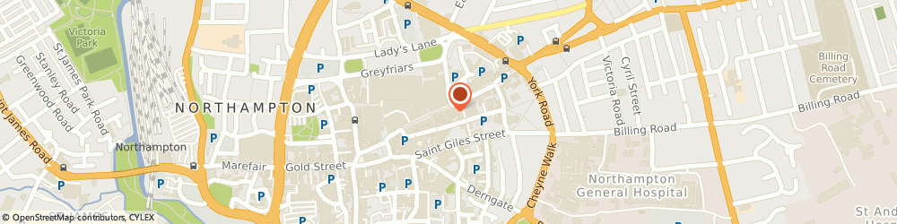 Route/map/directions to Specsavers Opticians and Audiologists - Northampton, NN1 2AP Northampton, 50-52 Abington Street