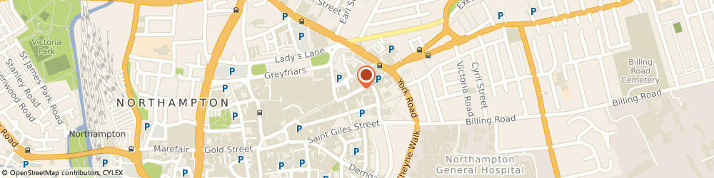 Route/map/directions to GLOBAL LAW & ACCOUNTING LTD, NN1 2AP Northampton, 82 Abington Street