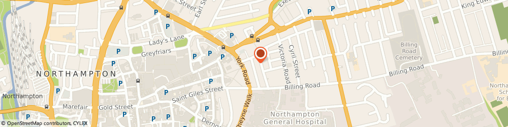 Route/map/directions to Jet Trans Limited, NN1 5QP Northampton, 15 Alexandra Road