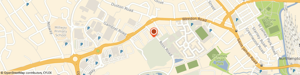 Route/map/directions to Hobbycraft, NN5 5AF Northampton, Tyne Road