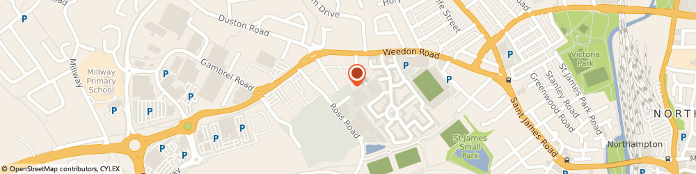 Route/map/directions to a J W Vehicle Services, NN5 5AA Northampton, Stour Road, Stour Rd, Unit 2b