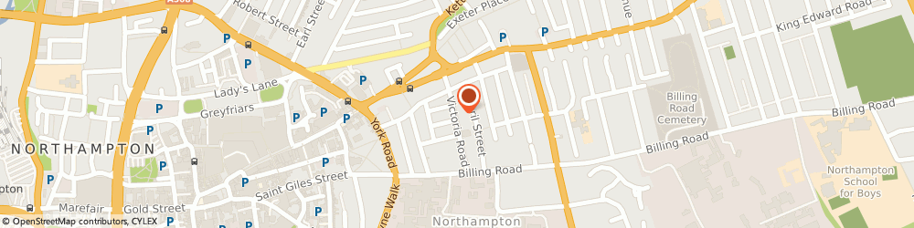 Route/map/directions to ANTONI TRUCKS LTD, NN1 5ED Northampton, Flat 11 Victoria House, Victoria Road