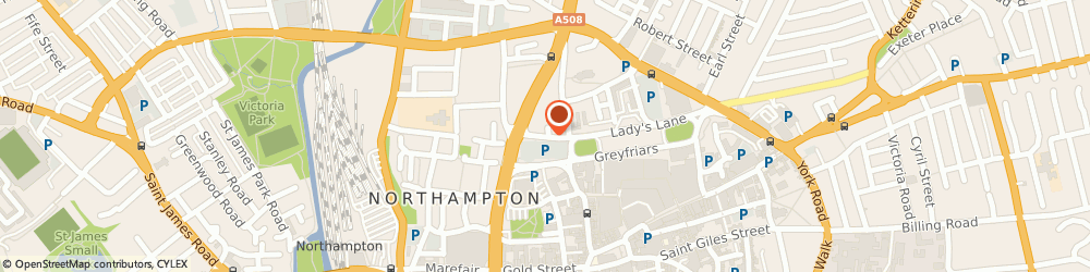 Route/map/directions to Ensafe Consultants Ltd, NN1 3AH Northampton, 9 LADYS LANE