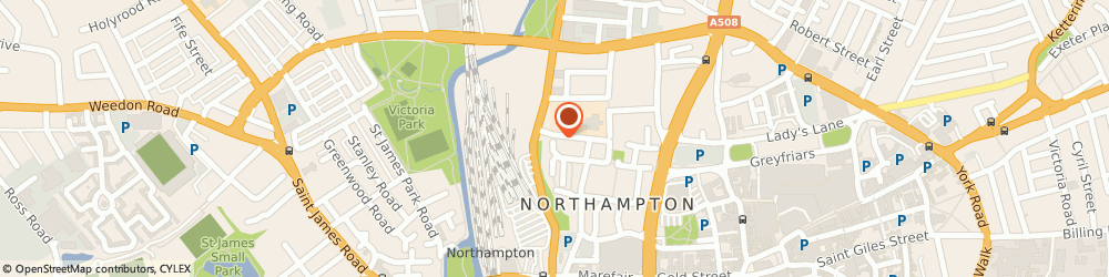 Route/map/directions to Autopoint Northampton, NN1 2RE Northampton, 100 Lower Bath Street